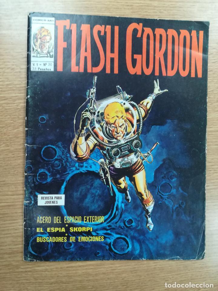 FLASH GORDON VOL 1 #20 (Tebeos y Comics - Vértice - Flash Gordon)