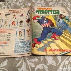 Comics: CAPITAN AMERICA. VOL 3 Nº 11.UN HOMBRE BESTIA. - VERTICE.1974. Lote 191450496