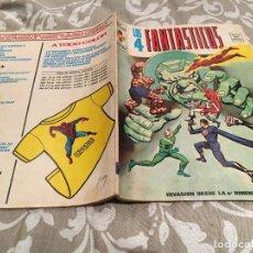 Cómics: LOS 4 FANTÁSTICOS VOL2 - Nº12 INVASION DESDE LA 5ª DIMENSION- VÉRTICE 1974. Lote 191452978