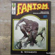 Cómics: FANTOM - Nº 28 - EL TESTAMENTO - VERTICE. Lote 191501576