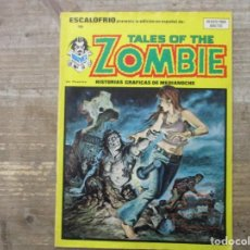 Cómics: ESCALOFRIO - NUMERO 18 / TALES OF THE ZOMBIE - Nº 5 - VERTICE. Lote 191502458