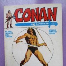 Cómics: CONAN Nº 1 VERTICE TACO ¡¡¡ ¡MUY BUEN ESTADO !!!! . Lote 191506588