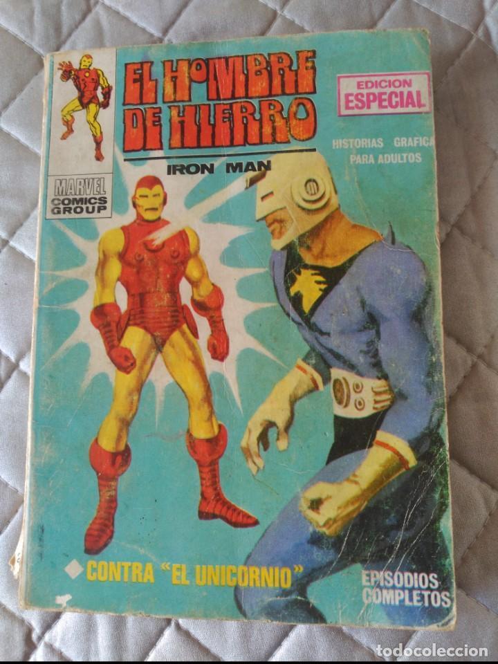 EL HOMBRE DE HIERRO VOL.1 Nº 2 (Tebeos y Comics - Vértice - Hombre de Hierro)