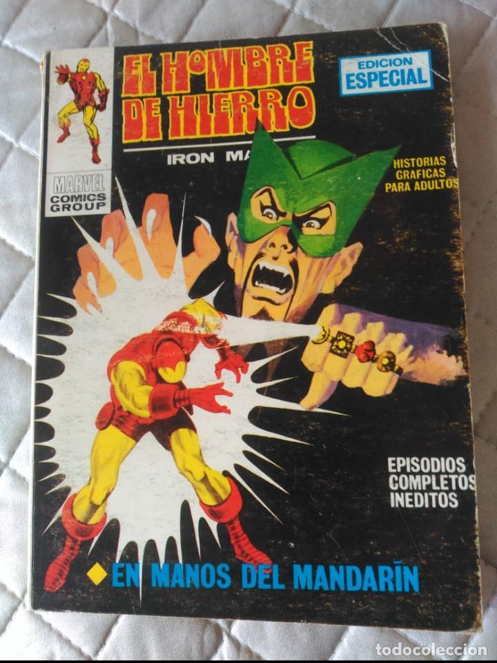 EL HOMBRE DE HIERRO VOL.1 Nº 4 (Tebeos y Comics - Vértice - Hombre de Hierro)