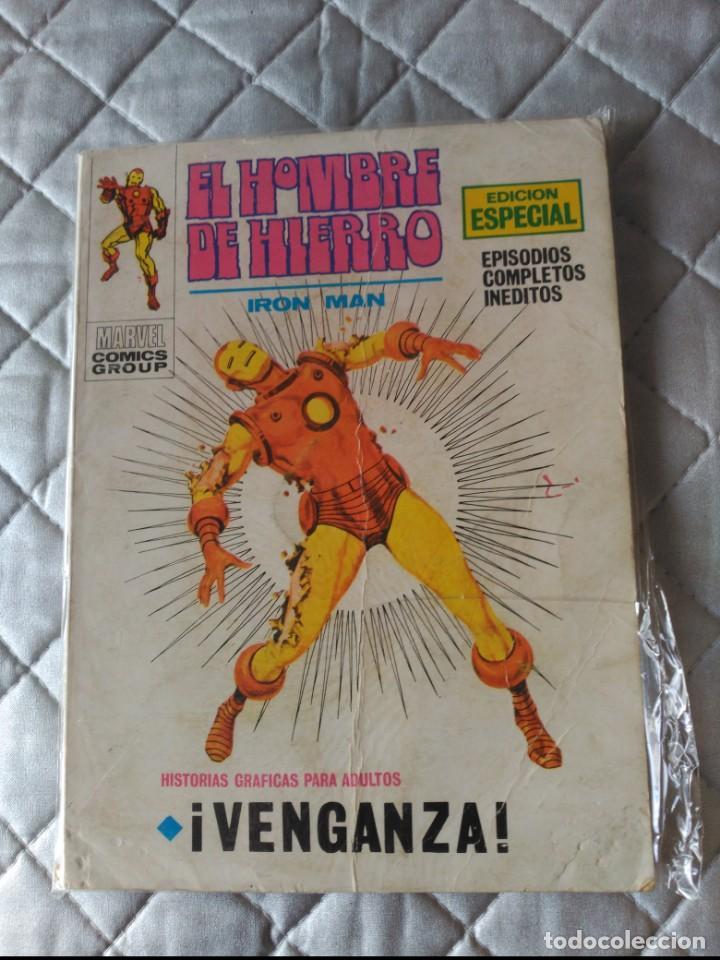 EL HOMBRE DE HIERRO VOL.1 Nº 16 (Tebeos y Comics - Vértice - Hombre de Hierro)