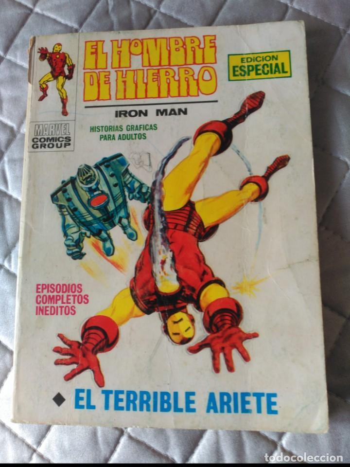 EL HOMBRE DE HIERRO VOL.1 Nº 17 (Tebeos y Comics - Vértice - Hombre de Hierro)