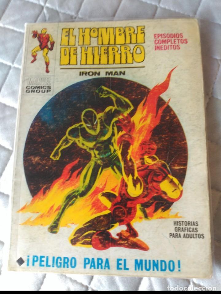 EL HOMBRE DE HIERRO VOL.1 Nº 23 (Tebeos y Comics - Vértice - Hombre de Hierro)