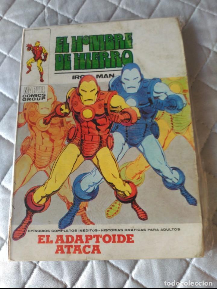 EL HOMBRE DE HIERRO VOL.1 Nº 25 (Tebeos y Comics - Vértice - Hombre de Hierro)