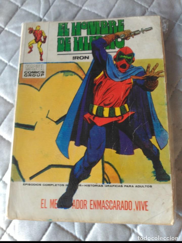 EL HOMBRE DE HIERRO VOL.1 Nº 31 (Tebeos y Comics - Vértice - Hombre de Hierro)