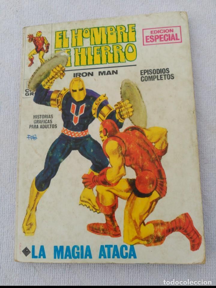 EL HOMBRE DE HIERRO VOL.1 Nº 3 (Tebeos y Comics - Vértice - Hombre de Hierro)