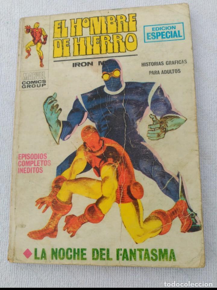 EL HOMBRE DE HIERRO VOL.1 Nº 6 (Tebeos y Comics - Vértice - Hombre de Hierro)