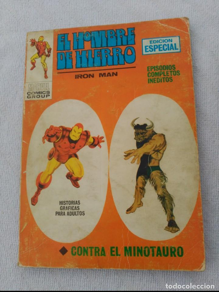 EL HOMBRE DE HIERRO VOL.1 Nº 20 (Tebeos y Comics - Vértice - Hombre de Hierro)