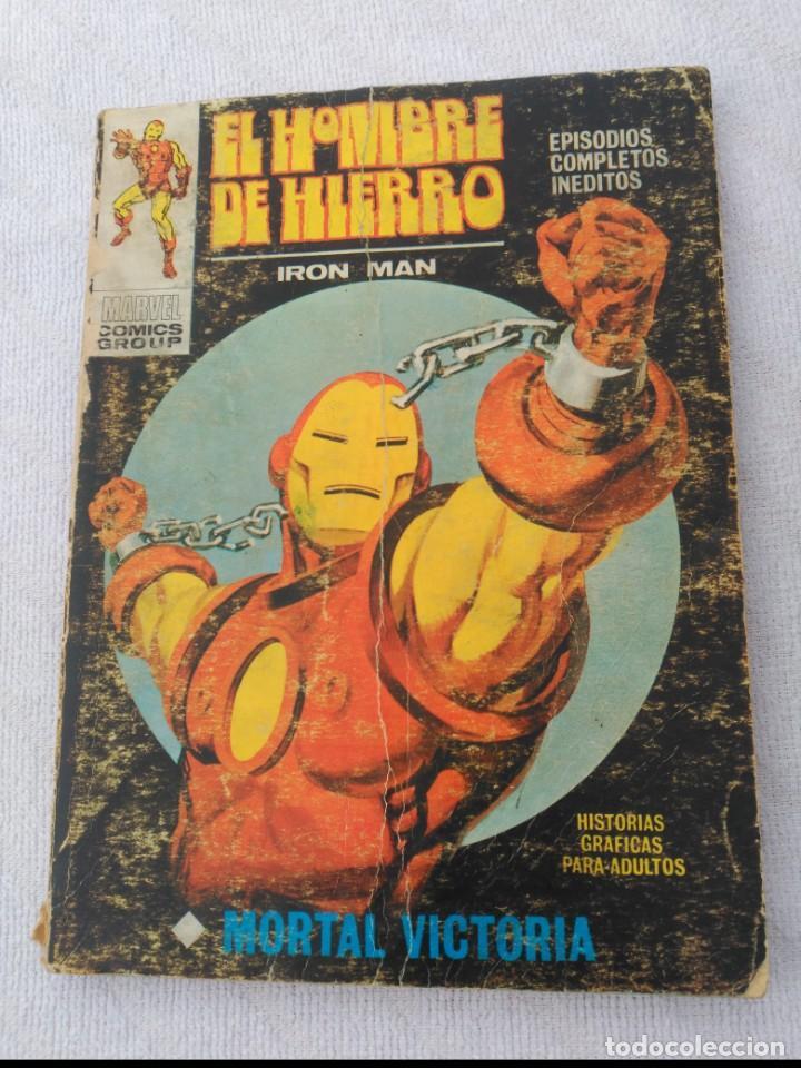 EL HOMBRE DE HIERRO VOL.1 Nº 24 (Tebeos y Comics - Vértice - Hombre de Hierro)