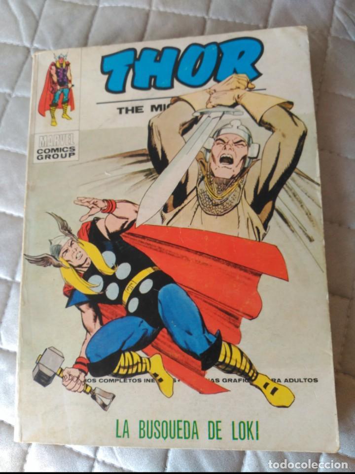 THOR VOL,1 Nº 35 VERTICE (Tebeos y Comics - Vértice - Thor)