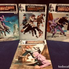 Comics: LOTE 4 COMICS EL HOMBRE ENMASCARADO Nº 5 6 8 9 VERTICE 1973. Lote 191827933