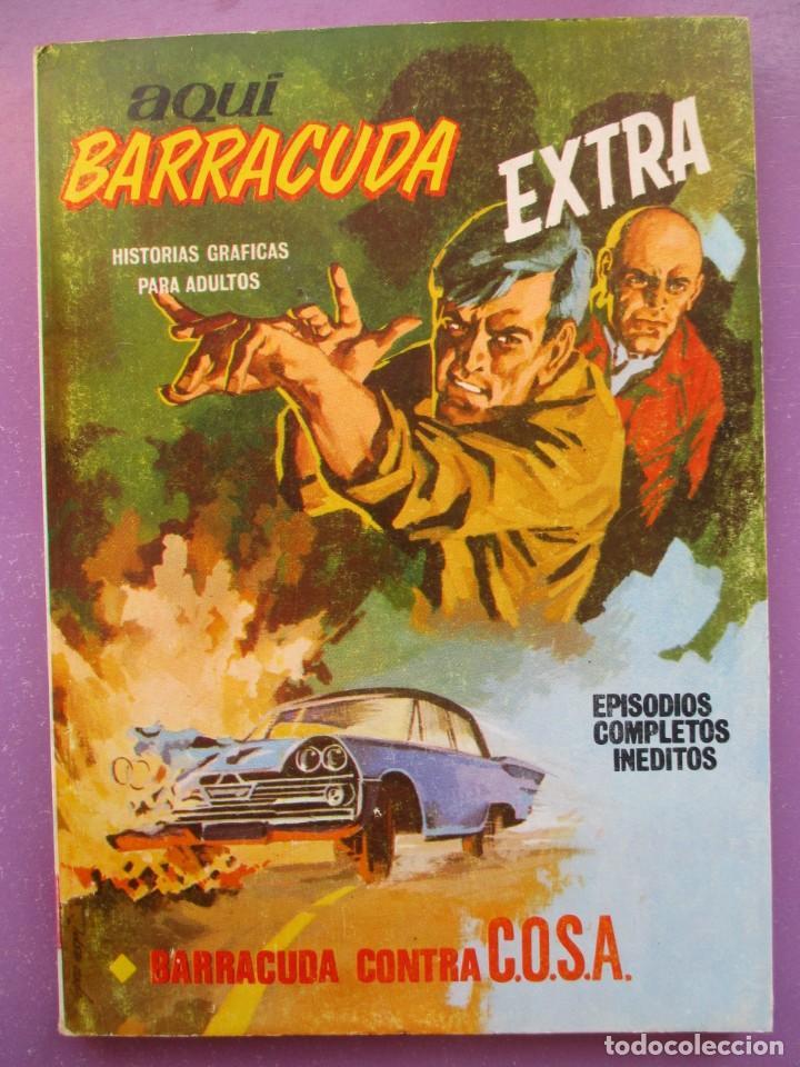 AQUI BARRACUDA Nº 1 VERTICE TACO ¡¡¡ BUEN ESTADO !!!! (Tebeos y Comics - Vértice - V.1)