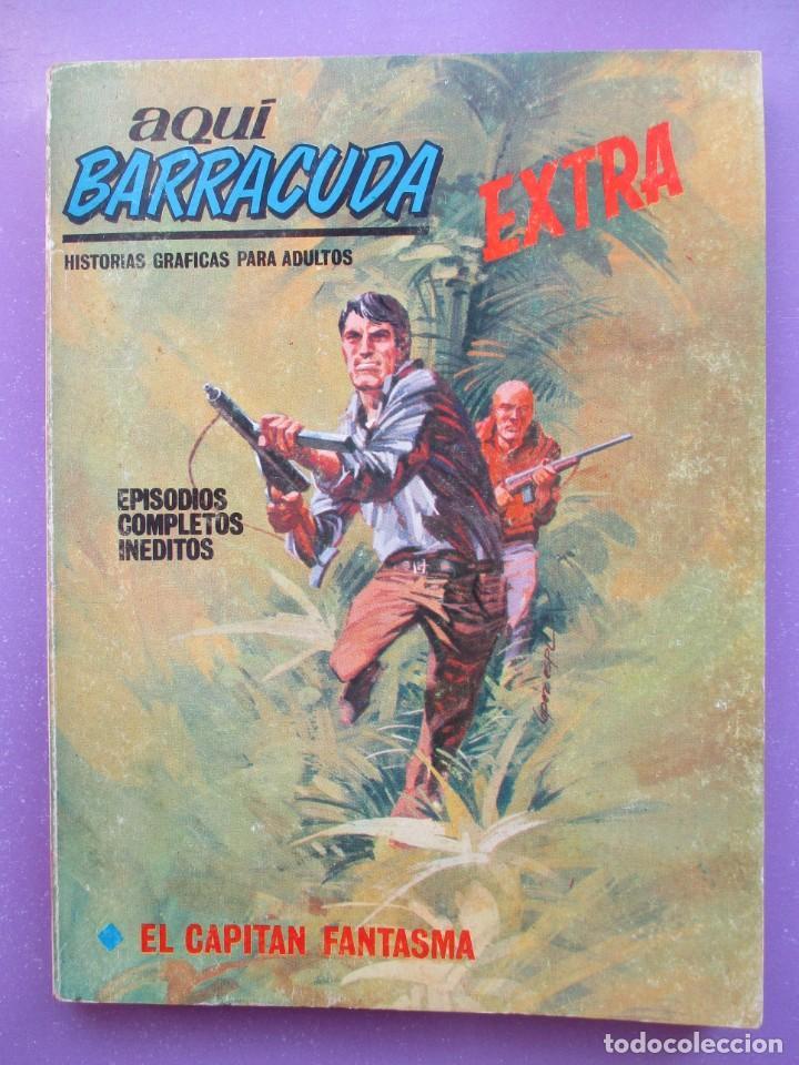 Cómics: AQUI BARRACUDA Nº 8 VERTICE TACO ¡¡¡ BUEN ESTADO !!!! - Foto 5 - 191837896