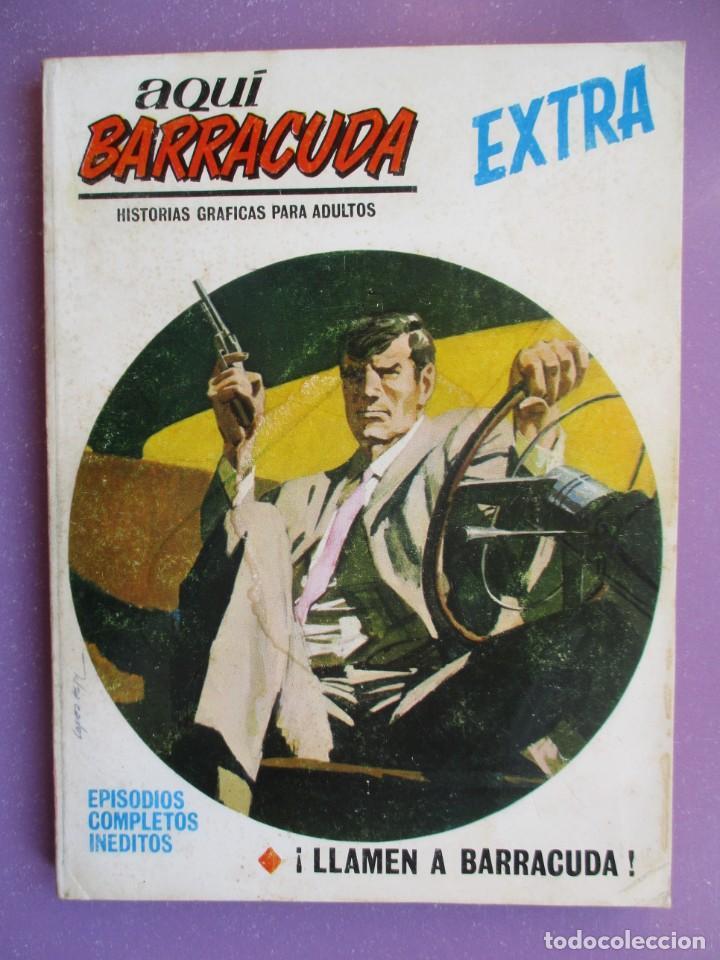 AQUI BARRACUDA Nº 10 VERTICE TACO ¡¡¡ BUEN ESTADO !!!! (Tebeos y Comics - Vértice - V.1)