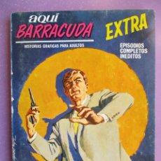 Cómics: AQUI BARRACUDA Nº 13 VERTICE TACO ¡¡¡BASTANTE BUEN ESTADO !!!!. Lote 191838861