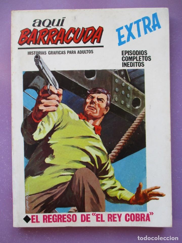 AQUI BARRACUDA Nº 16 VERTICE TACO ¡¡¡ MUY BUEN ESTADO !!!! (Tebeos y Comics - Vértice - V.1)