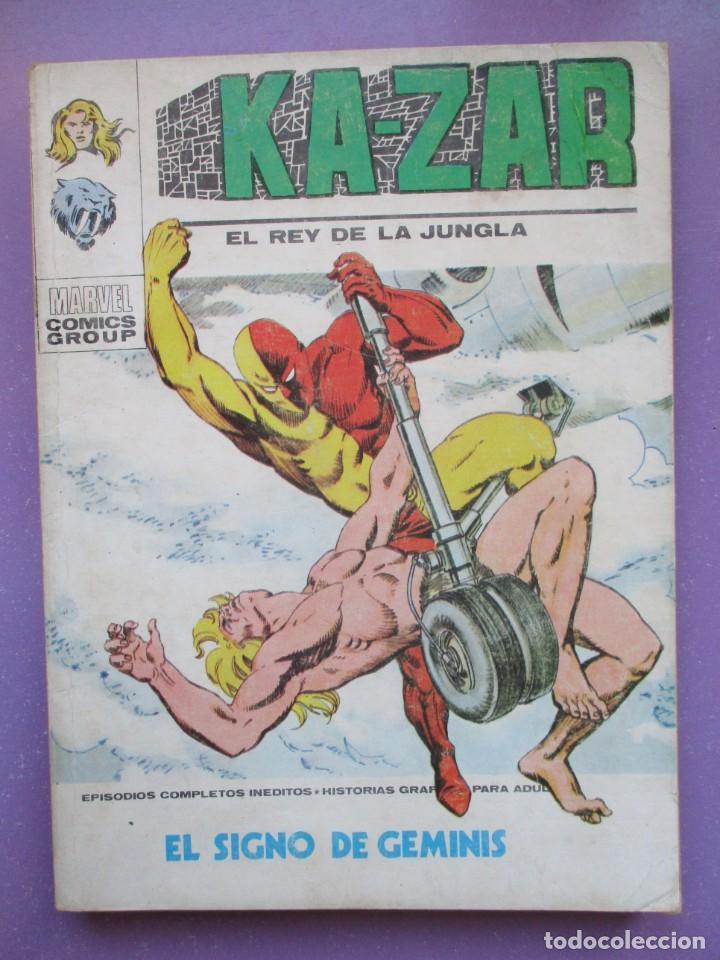 KA ZAR Nº 6 VERTICE TACO ¡¡¡¡ BUEN ESTADO !!!! (Tebeos y Comics - Vértice - V.1)