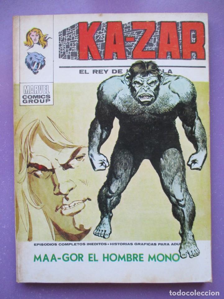 KA ZAR Nº 3 VERTICE TACO ¡¡¡¡ BUEN ESTADO !!!! (Tebeos y Comics - Vértice - V.1)