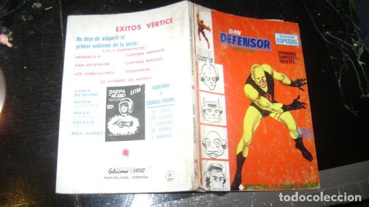 Cómics: VERTICE TACO LOTE DAN DEFENSOR V 1 DEL 1 AL 28 26 NUMEROS VER FOTOS - Foto 7 - 191847916