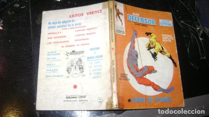 Cómics: VERTICE TACO LOTE DAN DEFENSOR V 1 DEL 1 AL 28 26 NUMEROS VER FOTOS - Foto 8 - 191847916