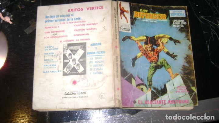 Cómics: VERTICE TACO LOTE DAN DEFENSOR V 1 DEL 1 AL 28 26 NUMEROS VER FOTOS - Foto 12 - 191847916