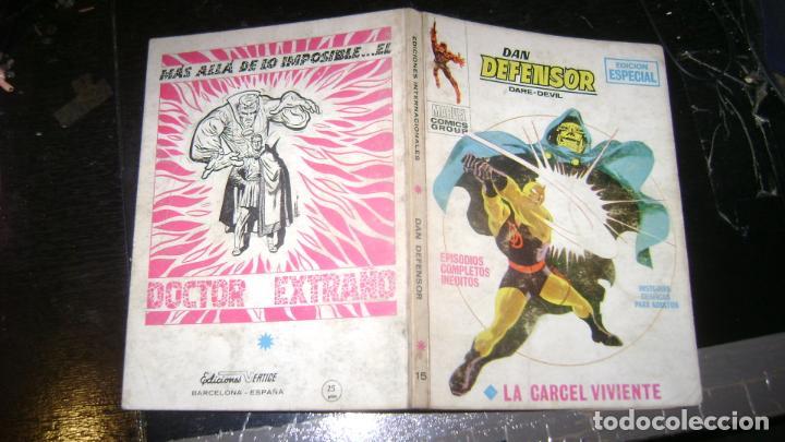 Cómics: VERTICE TACO LOTE DAN DEFENSOR V 1 DEL 1 AL 28 26 NUMEROS VER FOTOS - Foto 16 - 191847916