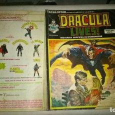 Cómics: COMIC: ESCALOFRIO 44 - DRACULA LIVES Nº 13. RECOMPENSA POR UN VAMPIRO. ¡DIFICIL!. Lote 191978585