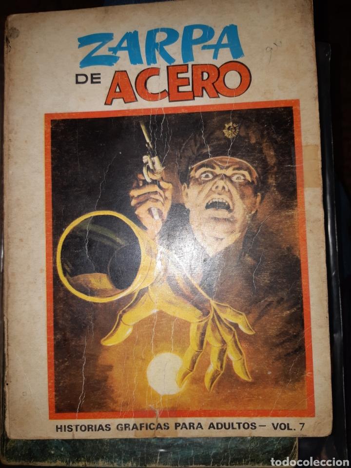 TEBEOS COMICS CANDY - ZARPA DE ACERO 7 - TOMO EXTRA - VÉRTICE - AA97 (Tebeos y Comics - Vértice - Fleetway)