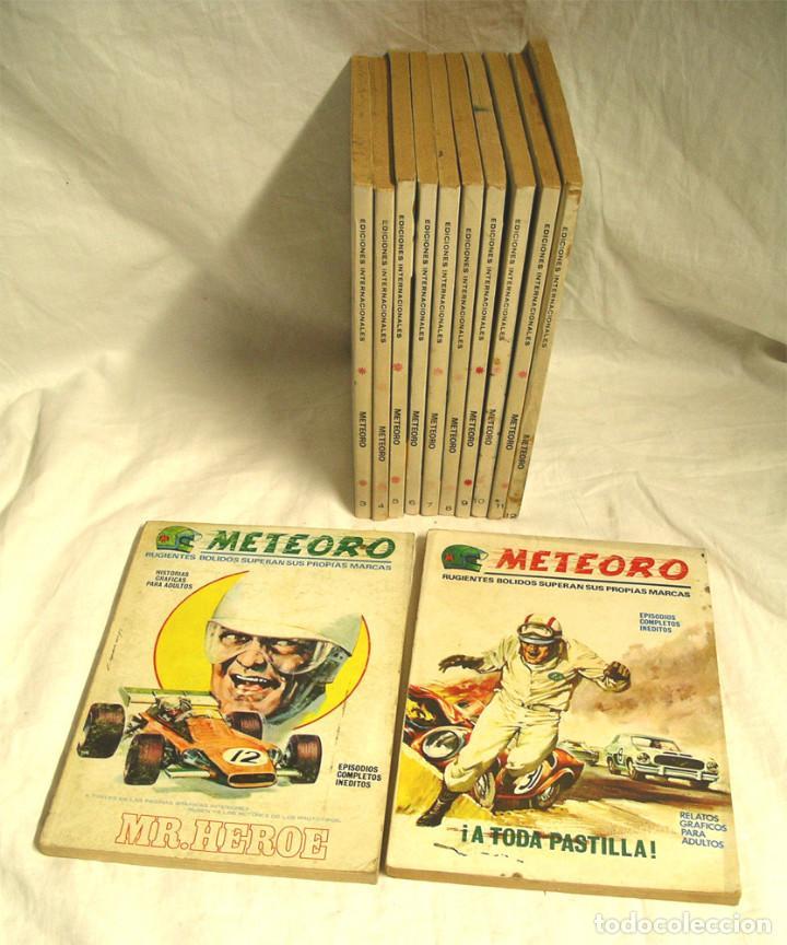 METEORO VÉRTICE V1 COLECCIÓN COMPLETA 12 NÚMEROS, AÑO 72 (Tebeos y Comics - Vértice - V.1)