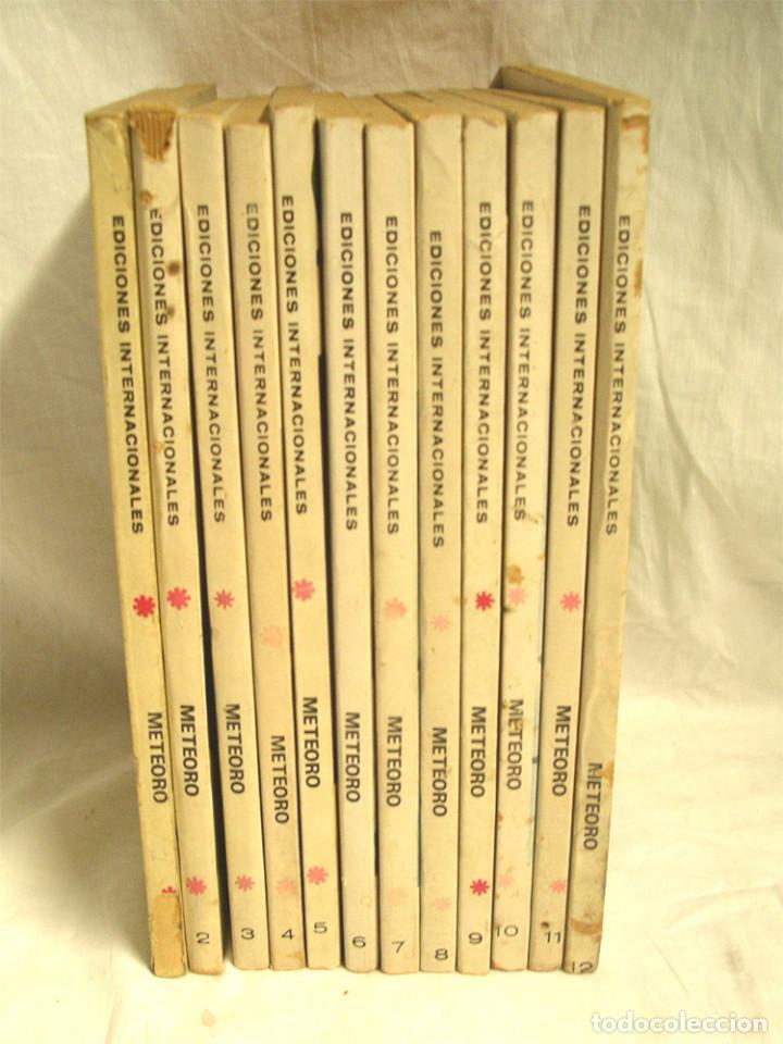 Cómics: Meteoro Vértice V1 Colección Completa 12 números, año 72 - Foto 2 - 192131120