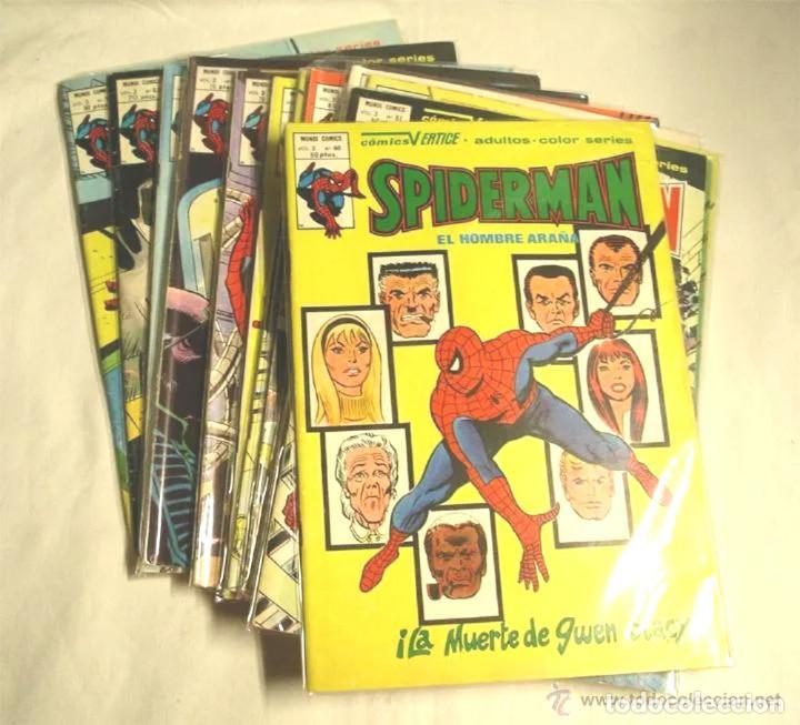 SPIDERMAN VOL 3 Nº 61, 62, 63, 63A, 63B, 63C, 63D, 63E, 63F, 63G, 63H Y 64 (Tebeos y Comics - Vértice - V.3)