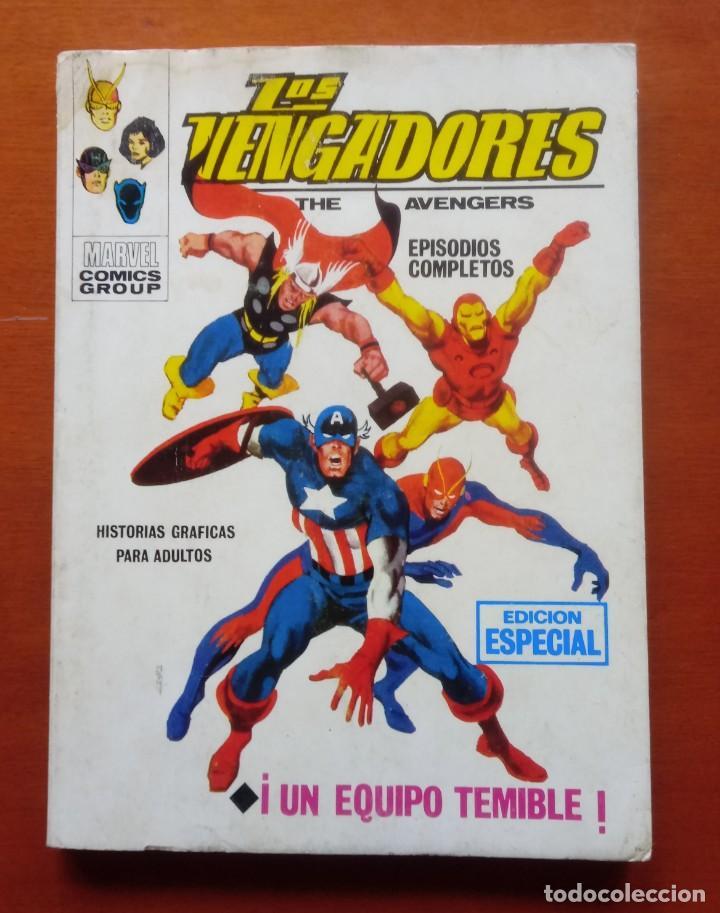 LOS VENGADORES VOL 1, Nº 2. VÉRTICE. TACO. COMPLETO. 128 PÁGINAS. ESTADO MUY ACEPTABLE. (Tebeos y Comics - Vértice - Vengadores)