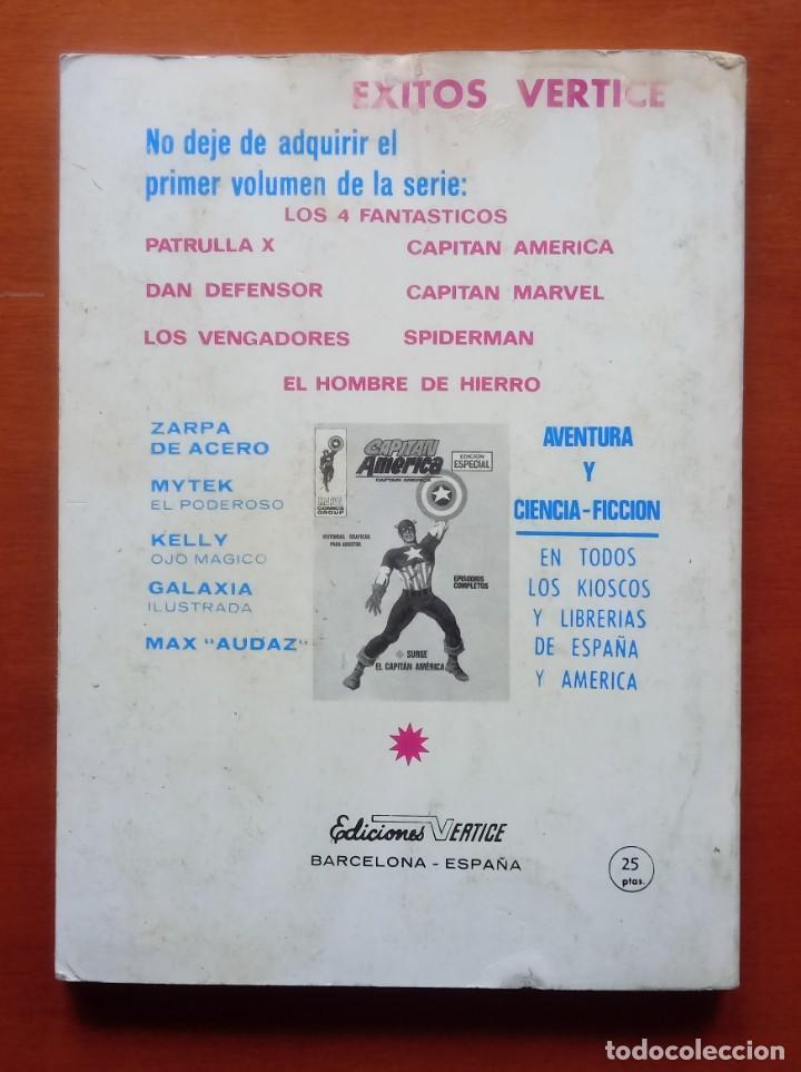 Cómics: LOS VENGADORES VOL 1, Nº 2. VÉRTICE. TACO. COMPLETO. 128 PÁGINAS. ESTADO MUY ACEPTABLE. - Foto 2 - 192179048