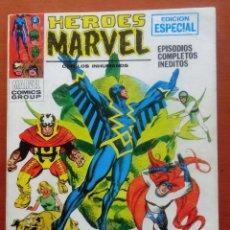 Cómics: HEROES MARVEL VOL 1, Nº 1. VÉRTICE. TACO. COMPLETO. 128 PÁGINAS. ESTADO ACEPTABLE.. Lote 192180137