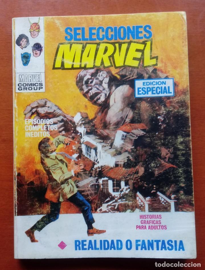 SELECCIONES MARVEL N 7. VÉRTICE. TACO. COMPLETO. 128 PÁGINAS. ESTADO ACEPTABLE. (Tebeos y Comics - Vértice - Vengadores)