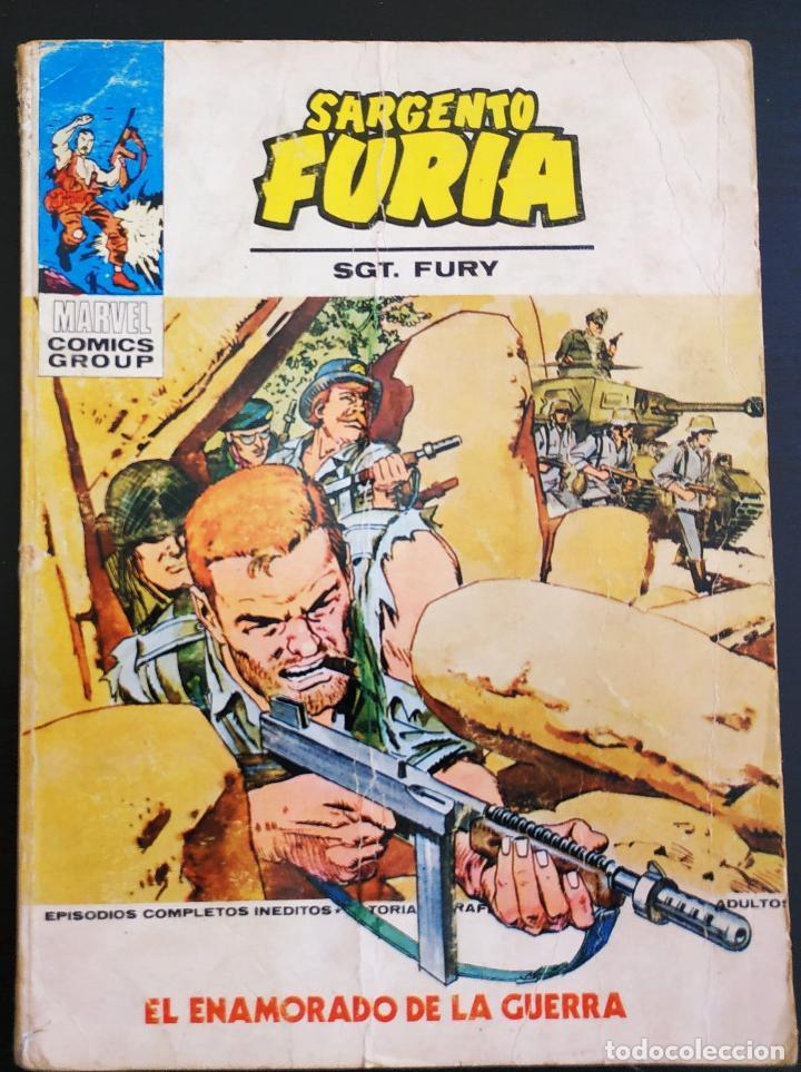 ESTADO NORMAL SARGENTO FURIA 23 VERTICE TACO (Tebeos y Comics - Vértice - Furia)