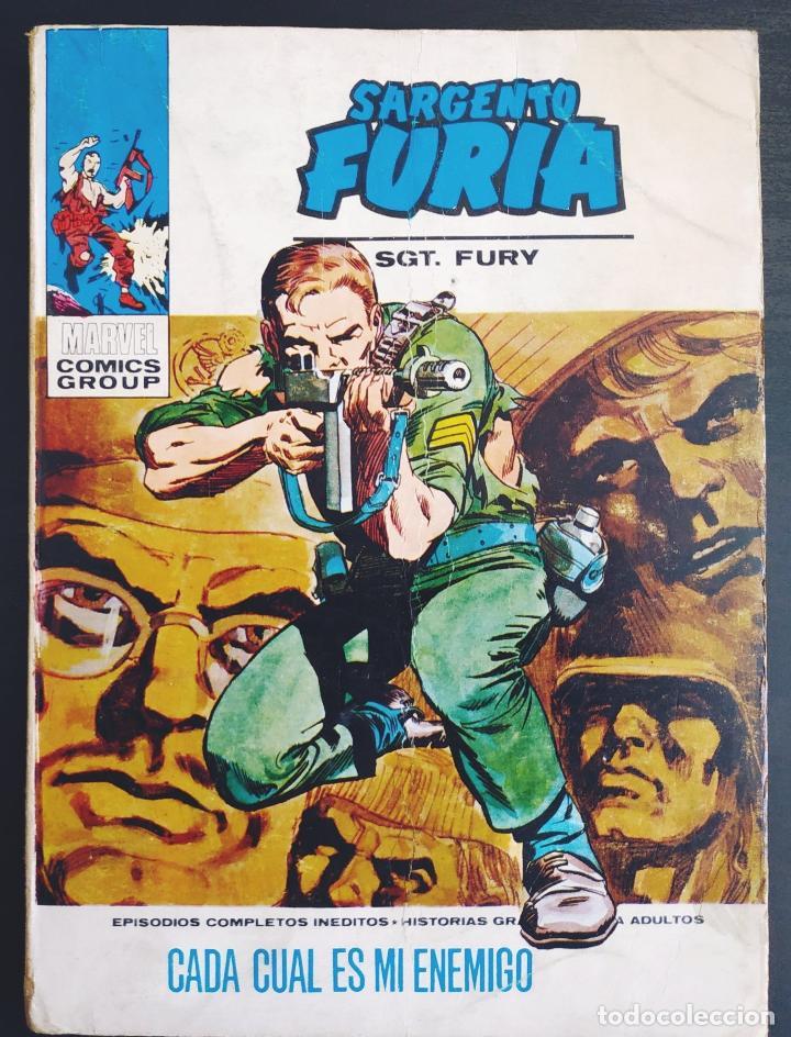 BUEN ESTADO SARGENTO FURIA 12 VERTICE TACO (Tebeos y Comics - Vértice - Furia)