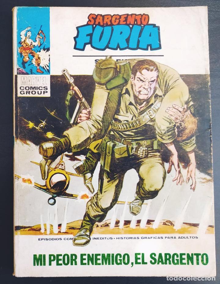 BUEN ESTADO SARGENTO FURIA 10 VERTICE TACO (Tebeos y Comics - Vértice - Furia)