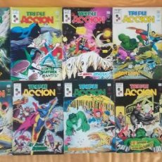 Cómics: TRIPLE ACCION 2,3,6,7,12,13,14,15,16,17,18,19,21,23. Lote 192462403