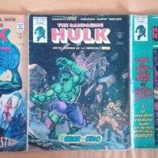 Cómics: THE RAMPAGING HULK 6,12,13 . Lote 192462607