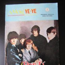 Cómics: AMOR YE-YE (1965, VERTICE) 2 · 1965 · AMOR MÍO. Lote 192734147