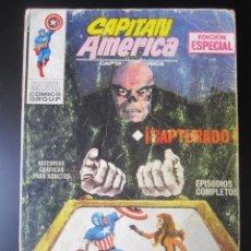 Cómics: CAPITAN AMERICA (1969, VERTICE) 2 · 1969 · CAPTURADO. Lote 192761957