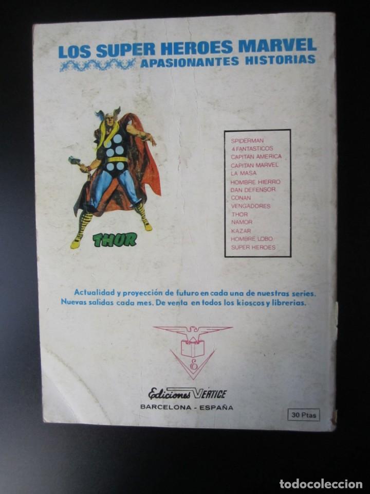 Cómics: SUPER HEROES (1973, VERTICE) 6 · V-1974 · LA MARCA DE LOS MUTANTES - Foto 2 - 192762008