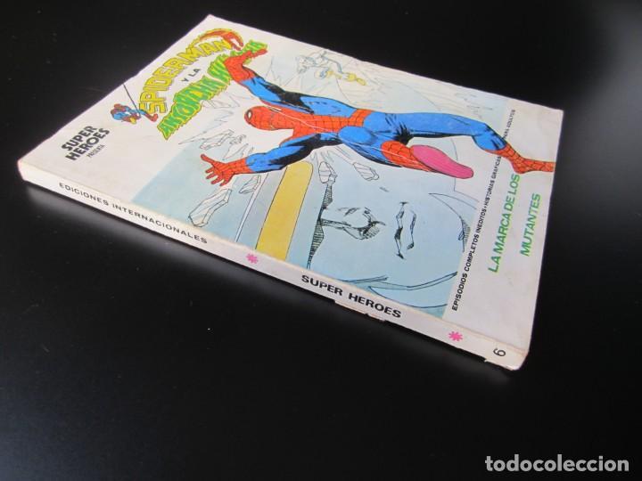 Cómics: SUPER HEROES (1973, VERTICE) 6 · V-1974 · LA MARCA DE LOS MUTANTES - Foto 3 - 192762008