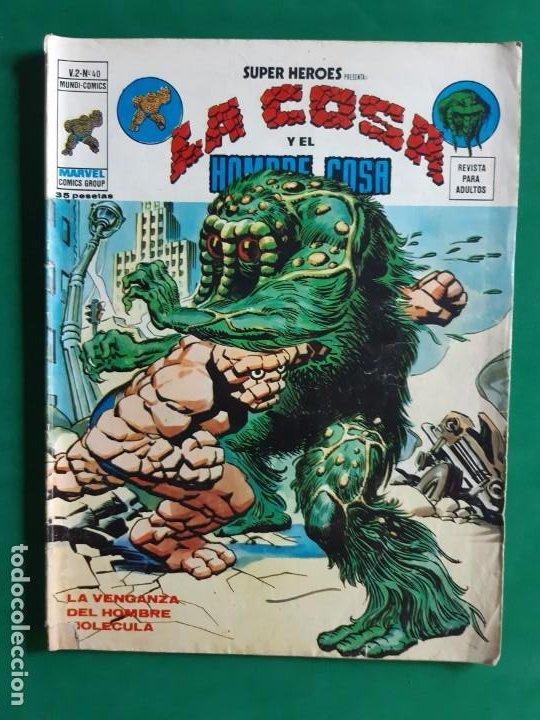 LA COSA Nº 40 VERTICE V2 (Tebeos y Comics - Vértice - V.2)