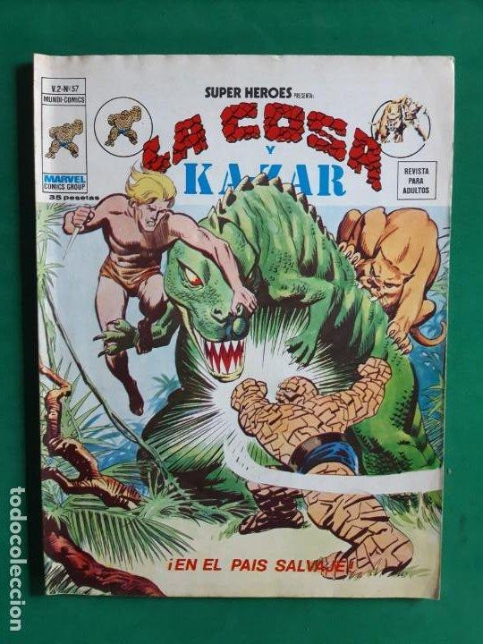 LA COSA Nº 57 VERTICE V2 (Tebeos y Comics - Vértice - V.2)